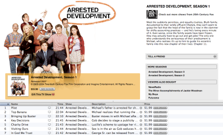 Arrested Development on iTunes